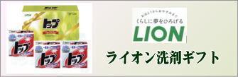 ライオンの洗剤ギフト