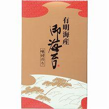 ●ハコ約14×23×4cm・重量=約100g●焼海苔全形4枚分(8切32枚×1)【えび】